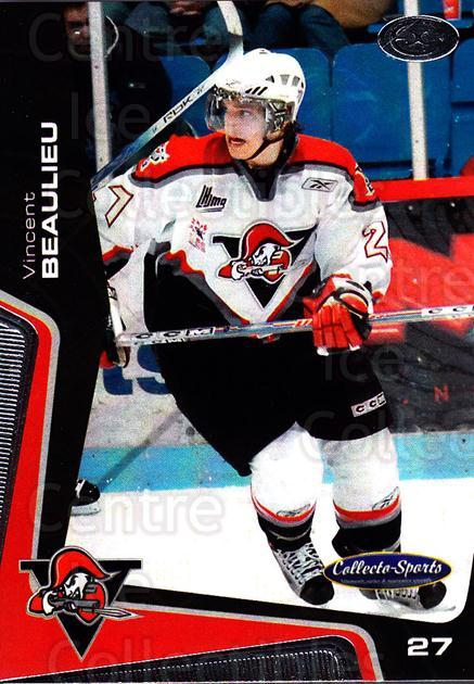 2005-06 Drummondville Voltigeurs #19 Vincent Beaulieu<br/>1 In Stock - $3.00 each - <a href=https://centericecollectibles.foxycart.com/cart?name=2005-06%20Drummondville%20Voltigeurs%20%2319%20Vincent%20Beaulie...&price=$3.00&code=670884 class=foxycart> Buy it now! </a>