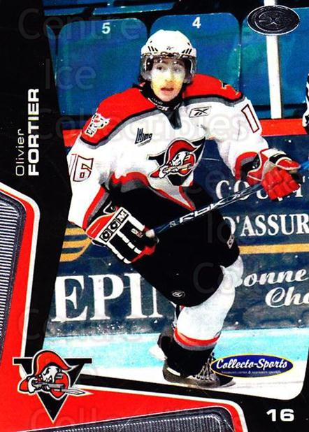 2005-06 Drummondville Voltigeurs #23 Olivier Fortier<br/>1 In Stock - $3.00 each - <a href=https://centericecollectibles.foxycart.com/cart?name=2005-06%20Drummondville%20Voltigeurs%20%2323%20Olivier%20Fortier...&quantity_max=1&price=$3.00&code=670888 class=foxycart> Buy it now! </a>