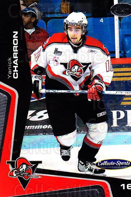 2005-06 Drummondville Voltigeurs #27 Yanick Charron<br/>1 In Stock - $3.00 each - <a href=https://centericecollectibles.foxycart.com/cart?name=2005-06%20Drummondville%20Voltigeurs%20%2327%20Yanick%20Charron...&price=$3.00&code=670892 class=foxycart> Buy it now! </a>