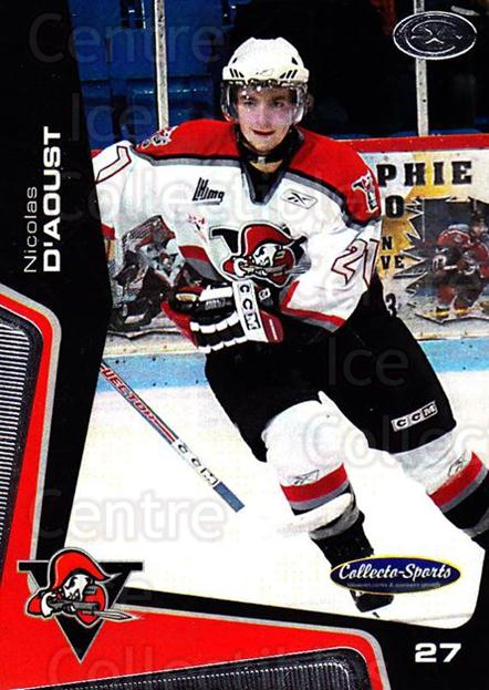 2005-06 Drummondville Voltigeurs #28 Nicolas D'Aoust<br/>2 In Stock - $3.00 each - <a href=https://centericecollectibles.foxycart.com/cart?name=2005-06%20Drummondville%20Voltigeurs%20%2328%20Nicolas%20D'Aoust...&quantity_max=2&price=$3.00&code=670893 class=foxycart> Buy it now! </a>