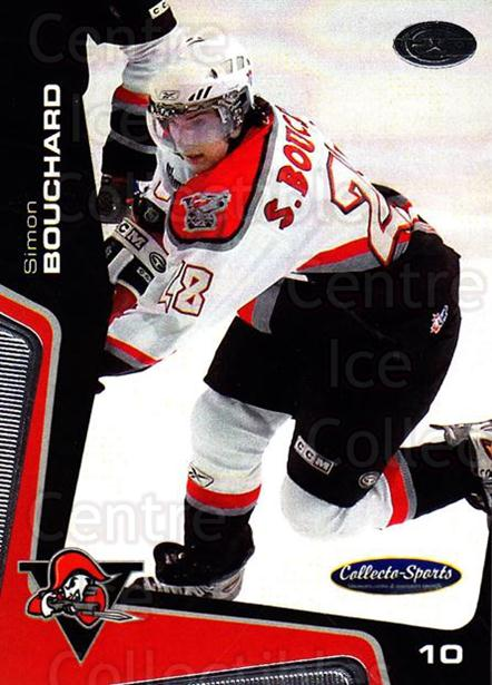 2005-06 Drummondville Voltigeurs #29 Simon Bouchard<br/>1 In Stock - $3.00 each - <a href=https://centericecollectibles.foxycart.com/cart?name=2005-06%20Drummondville%20Voltigeurs%20%2329%20Simon%20Bouchard...&price=$3.00&code=670894 class=foxycart> Buy it now! </a>