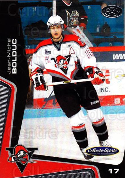 2005-06 Drummondville Voltigeurs #32 Jean-Michel Bolduc<br/>1 In Stock - $3.00 each - <a href=https://centericecollectibles.foxycart.com/cart?name=2005-06%20Drummondville%20Voltigeurs%20%2332%20Jean-Michel%20Bol...&price=$3.00&code=670897 class=foxycart> Buy it now! </a>