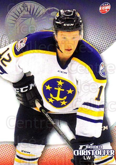 2015-16 Norfolk Admirals #18 Braden Christoffer<br/>3 In Stock - $3.00 each - <a href=https://centericecollectibles.foxycart.com/cart?name=2015-16%20Norfolk%20Admirals%20%2318%20Braden%20Christof...&price=$3.00&code=670916 class=foxycart> Buy it now! </a>