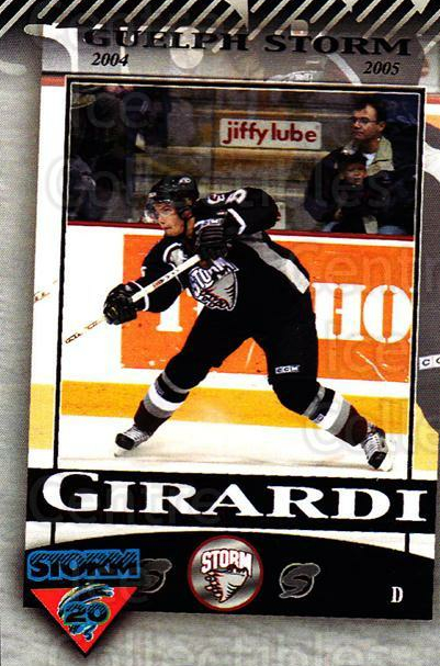 2010-11 Guelph Storm Top 20 All-Time #9 Daniel Girardi<br/>1 In Stock - $3.00 each - <a href=https://centericecollectibles.foxycart.com/cart?name=2010-11%20Guelph%20Storm%20Top%2020%20All-Time%20%239%20Daniel%20Girardi...&quantity_max=1&price=$3.00&code=670933 class=foxycart> Buy it now! </a>