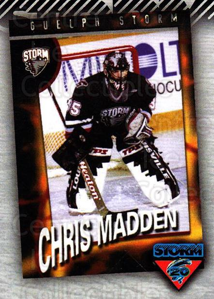 2010-11 Guelph Storm Top 20 All-Time #11 Chris Madden<br/>1 In Stock - $3.00 each - <a href=https://centericecollectibles.foxycart.com/cart?name=2010-11%20Guelph%20Storm%20Top%2020%20All-Time%20%2311%20Chris%20Madden...&quantity_max=1&price=$3.00&code=670935 class=foxycart> Buy it now! </a>