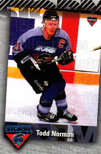 2010-11 Guelph Storm Top 20 All-Time #15 Todd Norman<br/>1 In Stock - $3.00 each - <a href=https://centericecollectibles.foxycart.com/cart?name=2010-11%20Guelph%20Storm%20Top%2020%20All-Time%20%2315%20Todd%20Norman...&quantity_max=1&price=$3.00&code=670939 class=foxycart> Buy it now! </a>