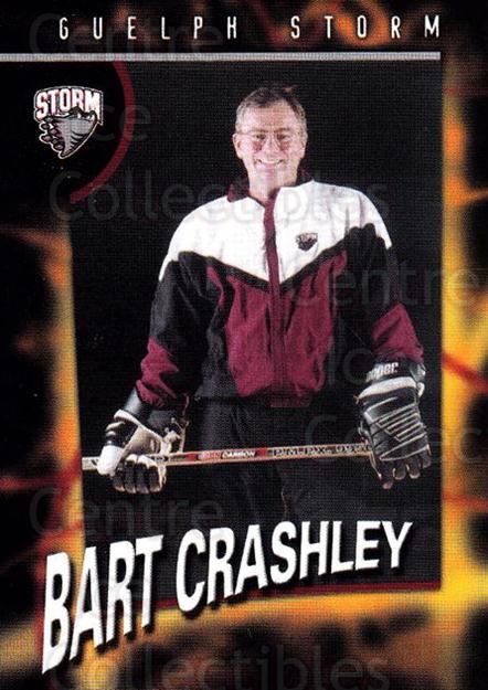 1998-99 Guelph Storm #25 Bart Crashley<br/>1 In Stock - $3.00 each - <a href=https://centericecollectibles.foxycart.com/cart?name=1998-99%20Guelph%20Storm%20%2325%20Bart%20Crashley...&quantity_max=1&price=$3.00&code=670970 class=foxycart> Buy it now! </a>