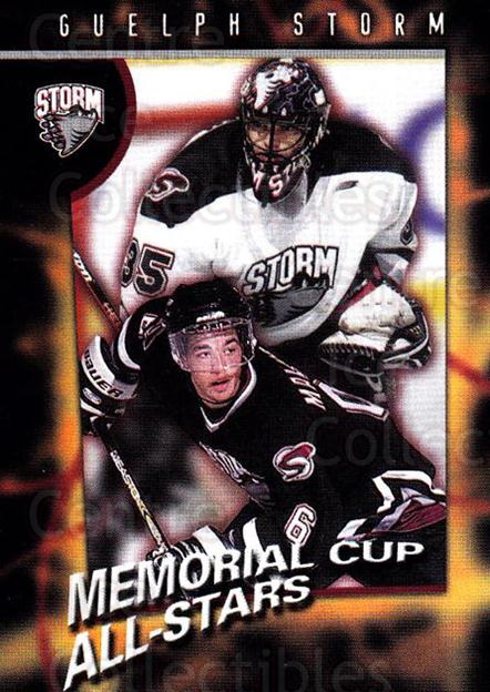 1998-99 Guelph Storm #32 Chris Madden, Manny Malhotra<br/>1 In Stock - $3.00 each - <a href=https://centericecollectibles.foxycart.com/cart?name=1998-99%20Guelph%20Storm%20%2332%20Chris%20Madden,%20M...&quantity_max=1&price=$3.00&code=670977 class=foxycart> Buy it now! </a>