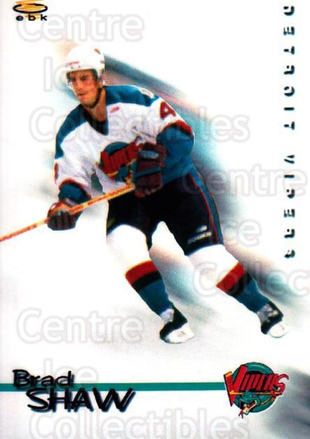 1998-99 Detroit Vipers #2 Brad Shaw<br/>1 In Stock - $3.00 each - <a href=https://centericecollectibles.foxycart.com/cart?name=1998-99%20Detroit%20Vipers%20%232%20Brad%20Shaw...&quantity_max=1&price=$3.00&code=671033 class=foxycart> Buy it now! </a>