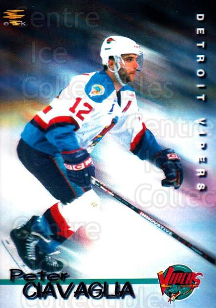 1998-99 Detroit Vipers #5 Peter Ciavaglia<br/>1 In Stock - $3.00 each - <a href=https://centericecollectibles.foxycart.com/cart?name=1998-99%20Detroit%20Vipers%20%235%20Peter%20Ciavaglia...&quantity_max=1&price=$3.00&code=671036 class=foxycart> Buy it now! </a>