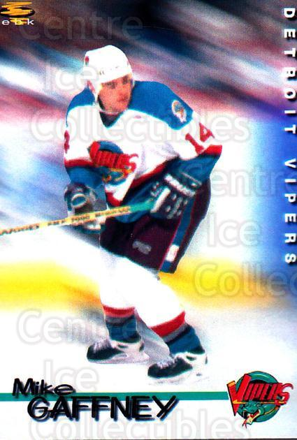 1998-99 Detroit Vipers #7 Mike Gaffney<br/>1 In Stock - $3.00 each - <a href=https://centericecollectibles.foxycart.com/cart?name=1998-99%20Detroit%20Vipers%20%237%20Mike%20Gaffney...&quantity_max=1&price=$3.00&code=671038 class=foxycart> Buy it now! </a>