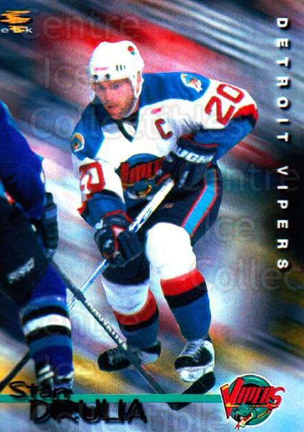 1998-99 Detroit Vipers #12 Stan Drulia<br/>1 In Stock - $3.00 each - <a href=https://centericecollectibles.foxycart.com/cart?name=1998-99%20Detroit%20Vipers%20%2312%20Stan%20Drulia...&quantity_max=1&price=$3.00&code=671043 class=foxycart> Buy it now! </a>