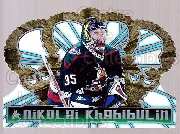 1998-99 Crown Royale #103 Nikolai Khabibulin<br/>5 In Stock - $1.00 each - <a href=https://centericecollectibles.foxycart.com/cart?name=1998-99%20Crown%20Royale%20%23103%20Nikolai%20Khabibu...&quantity_max=5&price=$1.00&code=67104 class=foxycart> Buy it now! </a>