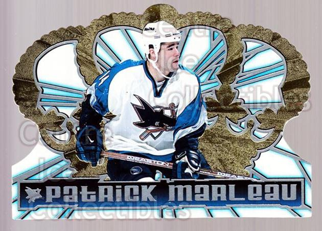 1998-99 Crown Royale #119 Patrick Marleau<br/>5 In Stock - $1.00 each - <a href=https://centericecollectibles.foxycart.com/cart?name=1998-99%20Crown%20Royale%20%23119%20Patrick%20Marleau...&quantity_max=5&price=$1.00&code=67120 class=foxycart> Buy it now! </a>