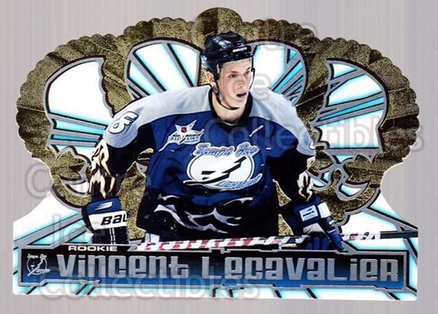 1998-99 Crown Royale #124 Vincent Lecavalier<br/>6 In Stock - $1.00 each - <a href=https://centericecollectibles.foxycart.com/cart?name=1998-99%20Crown%20Royale%20%23124%20Vincent%20Lecaval...&quantity_max=6&price=$1.00&code=67125 class=foxycart> Buy it now! </a>