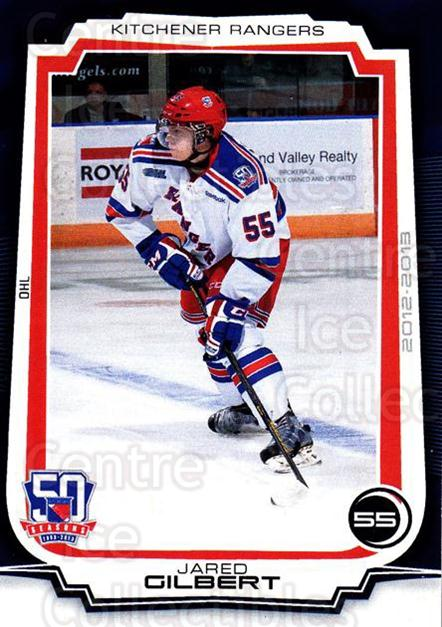 2012-13 Kitchener Rangers #16 Jared Gilbert<br/>1 In Stock - $3.00 each - <a href=https://centericecollectibles.foxycart.com/cart?name=2012-13%20Kitchener%20Rangers%20%2316%20Jared%20Gilbert...&quantity_max=1&price=$3.00&code=671415 class=foxycart> Buy it now! </a>