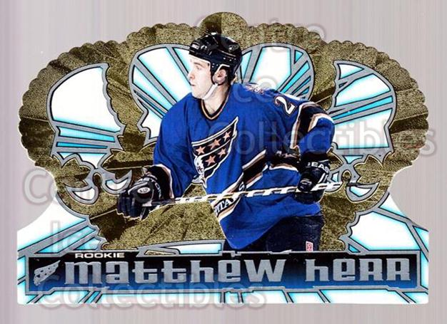 1998-99 Crown Royale #141 Matt Herr<br/>6 In Stock - $1.00 each - <a href=https://centericecollectibles.foxycart.com/cart?name=1998-99%20Crown%20Royale%20%23141%20Matt%20Herr...&quantity_max=6&price=$1.00&code=67142 class=foxycart> Buy it now! </a>