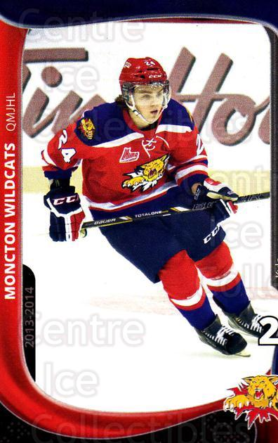 2013-14 Moncton Wildcats #8 Kyle Haas<br/>1 In Stock - $3.00 each - <a href=https://centericecollectibles.foxycart.com/cart?name=2013-14%20Moncton%20Wildcats%20%238%20Kyle%20Haas...&price=$3.00&code=671430 class=foxycart> Buy it now! </a>