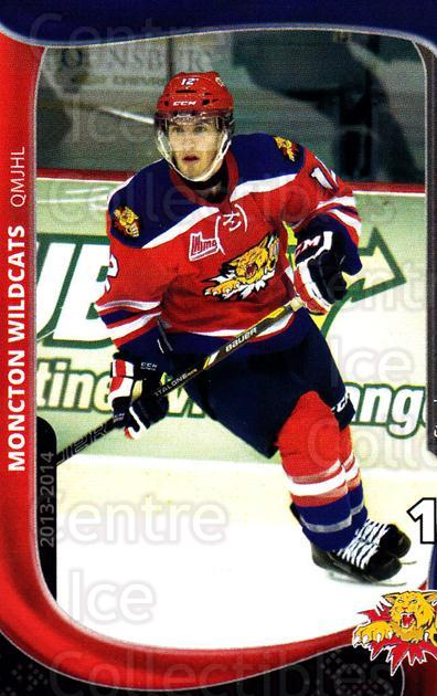 2013-14 Moncton Wildcats #14 Stephen Johnson<br/>1 In Stock - $3.00 each - <a href=https://centericecollectibles.foxycart.com/cart?name=2013-14%20Moncton%20Wildcats%20%2314%20Stephen%20Johnson...&price=$3.00&code=671436 class=foxycart> Buy it now! </a>