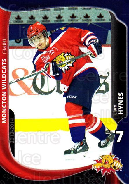 2013-14 Moncton Wildcats #19 Liam Hynes<br/>1 In Stock - $3.00 each - <a href=https://centericecollectibles.foxycart.com/cart?name=2013-14%20Moncton%20Wildcats%20%2319%20Liam%20Hynes...&price=$3.00&code=671441 class=foxycart> Buy it now! </a>