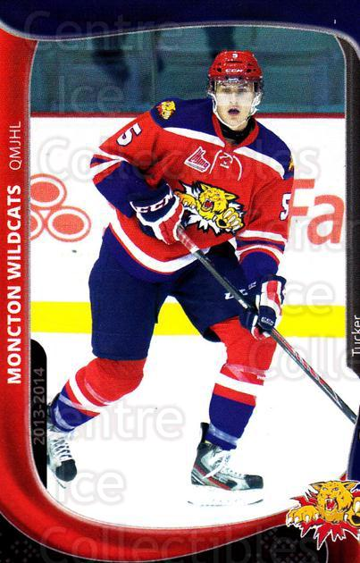 2013-14 Moncton Wildcats #20 Tucker White<br/>1 In Stock - $3.00 each - <a href=https://centericecollectibles.foxycart.com/cart?name=2013-14%20Moncton%20Wildcats%20%2320%20Tucker%20White...&price=$3.00&code=671442 class=foxycart> Buy it now! </a>