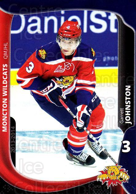2013-14 Moncton Wildcats #22 Garrett Johnston<br/>1 In Stock - $3.00 each - <a href=https://centericecollectibles.foxycart.com/cart?name=2013-14%20Moncton%20Wildcats%20%2322%20Garrett%20Johnsto...&price=$3.00&code=671444 class=foxycart> Buy it now! </a>
