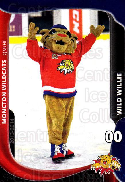 2013-14 Moncton Wildcats #24 Mascot<br/>1 In Stock - $3.00 each - <a href=https://centericecollectibles.foxycart.com/cart?name=2013-14%20Moncton%20Wildcats%20%2324%20Mascot...&price=$3.00&code=671446 class=foxycart> Buy it now! </a>