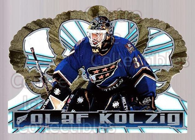 1998-99 Crown Royale #143 Olaf Kolzig<br/>5 In Stock - $1.00 each - <a href=https://centericecollectibles.foxycart.com/cart?name=1998-99%20Crown%20Royale%20%23143%20Olaf%20Kolzig...&quantity_max=5&price=$1.00&code=67144 class=foxycart> Buy it now! </a>