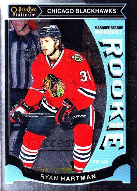2015-16 O-Pee-Chee Platinum Marquee Rookies #3 Ryan Hartman<br/>12 In Stock - $3.00 each - <a href=https://centericecollectibles.foxycart.com/cart?name=2015-16%20O-Pee-Chee%20Platinum%20Marquee%20Rookies%20%233%20Ryan%20Hartman...&quantity_max=12&price=$3.00&code=671475 class=foxycart> Buy it now! </a>