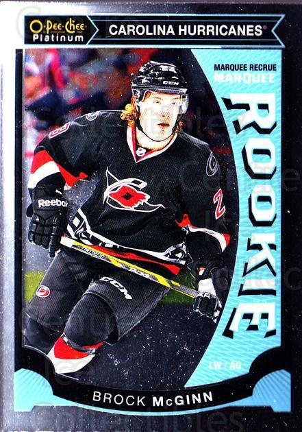 2015-16 O-Pee-Chee Platinum Marquee Rookies #12 Brock McGinn<br/>16 In Stock - $3.00 each - <a href=https://centericecollectibles.foxycart.com/cart?name=2015-16%20O-Pee-Chee%20Platinum%20Marquee%20Rookies%20%2312%20Brock%20McGinn...&quantity_max=16&price=$3.00&code=671484 class=foxycart> Buy it now! </a>