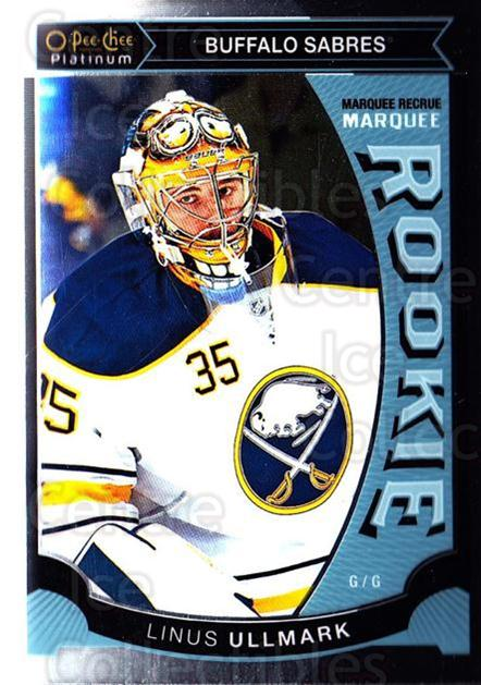 2015-16 O-Pee-Chee Platinum Marquee Rookies #13 Linus Ullmark<br/>11 In Stock - $3.00 each - <a href=https://centericecollectibles.foxycart.com/cart?name=2015-16%20O-Pee-Chee%20Platinum%20Marquee%20Rookies%20%2313%20Linus%20Ullmark...&quantity_max=11&price=$3.00&code=671485 class=foxycart> Buy it now! </a>