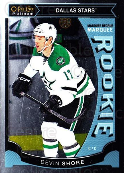 2015-16 O-Pee-Chee Platinum Marquee Rookies #14 Devin Shore<br/>11 In Stock - $3.00 each - <a href=https://centericecollectibles.foxycart.com/cart?name=2015-16%20O-Pee-Chee%20Platinum%20Marquee%20Rookies%20%2314%20Devin%20Shore...&quantity_max=11&price=$3.00&code=671486 class=foxycart> Buy it now! </a>