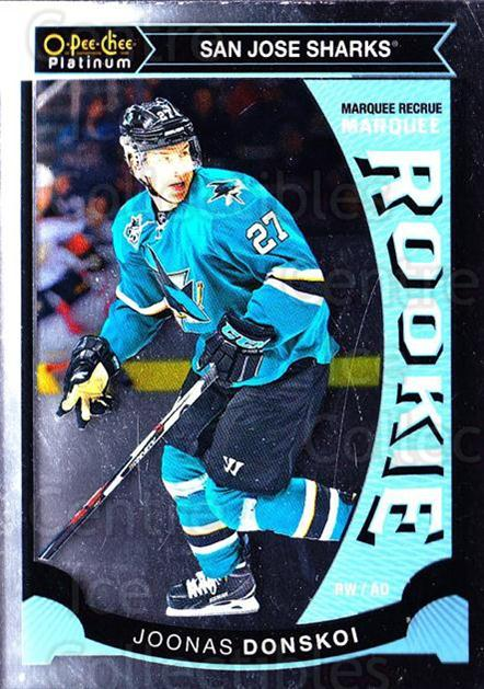 2015-16 O-Pee-Chee Platinum Marquee Rookies #16 Joonas Donskoi<br/>14 In Stock - $3.00 each - <a href=https://centericecollectibles.foxycart.com/cart?name=2015-16%20O-Pee-Chee%20Platinum%20Marquee%20Rookies%20%2316%20Joonas%20Donskoi...&quantity_max=14&price=$3.00&code=671488 class=foxycart> Buy it now! </a>
