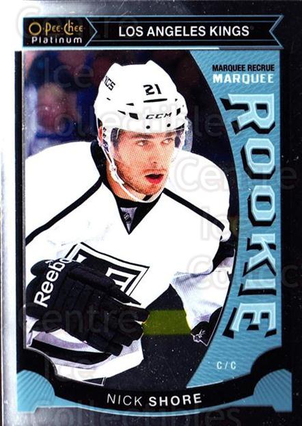 2015-16 O-Pee-Chee Platinum Marquee Rookies #18 Nick Shore<br/>15 In Stock - $3.00 each - <a href=https://centericecollectibles.foxycart.com/cart?name=2015-16%20O-Pee-Chee%20Platinum%20Marquee%20Rookies%20%2318%20Nick%20Shore...&quantity_max=15&price=$3.00&code=671490 class=foxycart> Buy it now! </a>