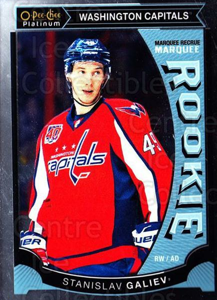 2015-16 O-Pee-Chee Platinum Marquee Rookies #28 Stanislav Galiev<br/>16 In Stock - $3.00 each - <a href=https://centericecollectibles.foxycart.com/cart?name=2015-16%20O-Pee-Chee%20Platinum%20Marquee%20Rookies%20%2328%20Stanislav%20Galie...&quantity_max=16&price=$3.00&code=671500 class=foxycart> Buy it now! </a>