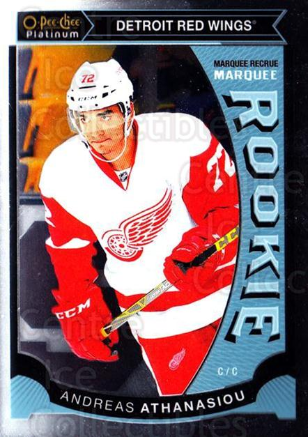 2015-16 O-Pee-Chee Platinum Marquee Rookies #33 Andreas Athanasiou<br/>12 In Stock - $3.00 each - <a href=https://centericecollectibles.foxycart.com/cart?name=2015-16%20O-Pee-Chee%20Platinum%20Marquee%20Rookies%20%2333%20Andreas%20Athanas...&quantity_max=12&price=$3.00&code=671505 class=foxycart> Buy it now! </a>