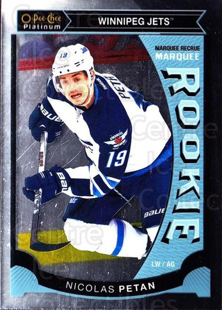 2015-16 O-Pee-Chee Platinum Marquee Rookies #43 Nicolas Petan<br/>13 In Stock - $3.00 each - <a href=https://centericecollectibles.foxycart.com/cart?name=2015-16%20O-Pee-Chee%20Platinum%20Marquee%20Rookies%20%2343%20Nicolas%20Petan...&quantity_max=13&price=$3.00&code=671515 class=foxycart> Buy it now! </a>