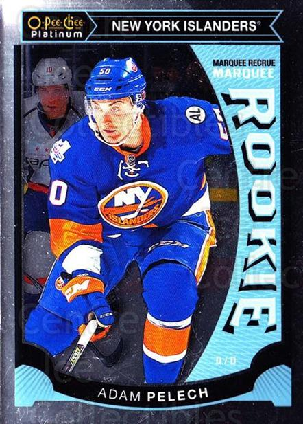 2015-16 O-Pee-Chee Platinum Marquee Rookies #47 Adam Pelech<br/>16 In Stock - $3.00 each - <a href=https://centericecollectibles.foxycart.com/cart?name=2015-16%20O-Pee-Chee%20Platinum%20Marquee%20Rookies%20%2347%20Adam%20Pelech...&quantity_max=16&price=$3.00&code=671519 class=foxycart> Buy it now! </a>