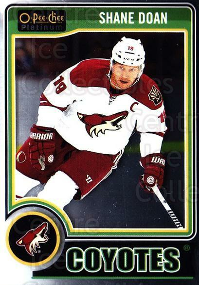 2014-15 O-Pee-Chee Platinum #5 Shane Doan<br/>4 In Stock - $1.00 each - <a href=https://centericecollectibles.foxycart.com/cart?name=2014-15%20O-Pee-Chee%20Platinum%20%235%20Shane%20Doan...&quantity_max=4&price=$1.00&code=671527 class=foxycart> Buy it now! </a>