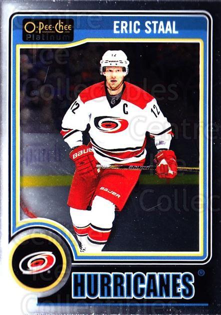 2014-15 O-Pee-Chee Platinum #6 Eric Staal<br/>5 In Stock - $1.00 each - <a href=https://centericecollectibles.foxycart.com/cart?name=2014-15%20O-Pee-Chee%20Platinum%20%236%20Eric%20Staal...&quantity_max=5&price=$1.00&code=671528 class=foxycart> Buy it now! </a>