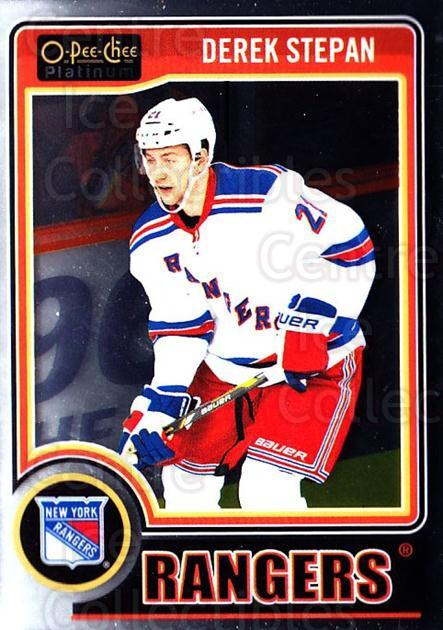 2014-15 O-Pee-Chee Platinum #18 Derek Stepan<br/>4 In Stock - $1.00 each - <a href=https://centericecollectibles.foxycart.com/cart?name=2014-15%20O-Pee-Chee%20Platinum%20%2318%20Derek%20Stepan...&quantity_max=4&price=$1.00&code=671540 class=foxycart> Buy it now! </a>