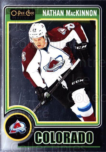 2014-15 O-Pee-Chee Platinum #20 Nathan MacKinnon<br/>5 In Stock - $2.00 each - <a href=https://centericecollectibles.foxycart.com/cart?name=2014-15%20O-Pee-Chee%20Platinum%20%2320%20Nathan%20MacKinno...&quantity_max=5&price=$2.00&code=671542 class=foxycart> Buy it now! </a>