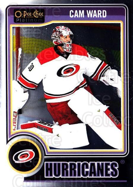 2014-15 O-Pee-Chee Platinum #29 Cam Ward<br/>4 In Stock - $1.00 each - <a href=https://centericecollectibles.foxycart.com/cart?name=2014-15%20O-Pee-Chee%20Platinum%20%2329%20Cam%20Ward...&quantity_max=4&price=$1.00&code=671551 class=foxycart> Buy it now! </a>
