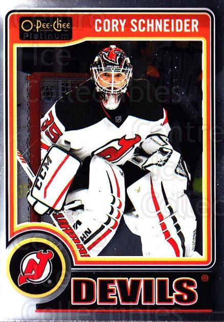 2014-15 O-Pee-Chee Platinum #31 Cory Schneider<br/>5 In Stock - $1.00 each - <a href=https://centericecollectibles.foxycart.com/cart?name=2014-15%20O-Pee-Chee%20Platinum%20%2331%20Cory%20Schneider...&quantity_max=5&price=$1.00&code=671553 class=foxycart> Buy it now! </a>
