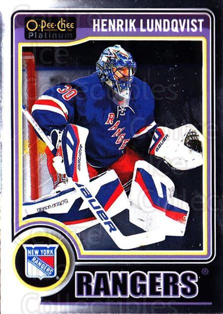 2014-15 O-Pee-Chee Platinum #37 Henrik Lundqvist<br/>3 In Stock - $2.00 each - <a href=https://centericecollectibles.foxycart.com/cart?name=2014-15%20O-Pee-Chee%20Platinum%20%2337%20Henrik%20Lundqvis...&quantity_max=3&price=$2.00&code=671559 class=foxycart> Buy it now! </a>