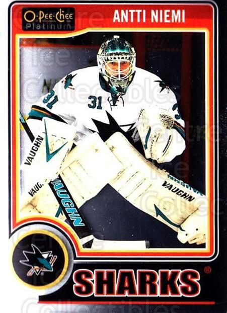 2014-15 O-Pee-Chee Platinum #53 Antti Niemi<br/>5 In Stock - $1.00 each - <a href=https://centericecollectibles.foxycart.com/cart?name=2014-15%20O-Pee-Chee%20Platinum%20%2353%20Antti%20Niemi...&quantity_max=5&price=$1.00&code=671575 class=foxycart> Buy it now! </a>