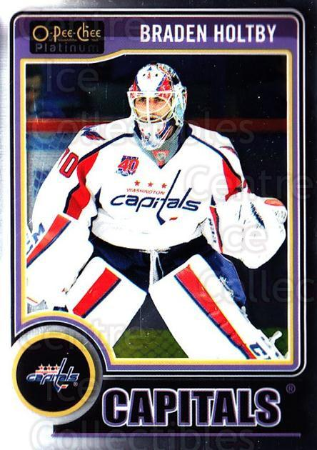 2014-15 O-Pee-Chee Platinum #67 Braden Holtby<br/>5 In Stock - $1.00 each - <a href=https://centericecollectibles.foxycart.com/cart?name=2014-15%20O-Pee-Chee%20Platinum%20%2367%20Braden%20Holtby...&quantity_max=5&price=$1.00&code=671589 class=foxycart> Buy it now! </a>