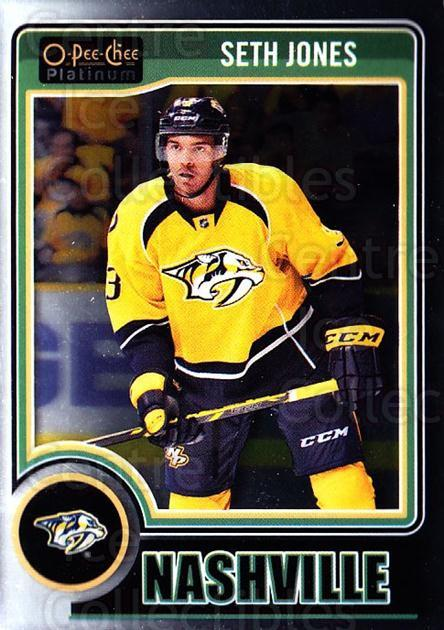 2014-15 O-Pee-Chee Platinum #72 Seth Jones<br/>5 In Stock - $1.00 each - <a href=https://centericecollectibles.foxycart.com/cart?name=2014-15%20O-Pee-Chee%20Platinum%20%2372%20Seth%20Jones...&quantity_max=5&price=$1.00&code=671594 class=foxycart> Buy it now! </a>