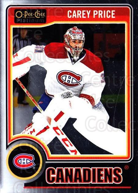2014-15 O-Pee-Chee Platinum #76 Carey Price<br/>1 In Stock - $3.00 each - <a href=https://centericecollectibles.foxycart.com/cart?name=2014-15%20O-Pee-Chee%20Platinum%20%2376%20Carey%20Price...&price=$3.00&code=671598 class=foxycart> Buy it now! </a>