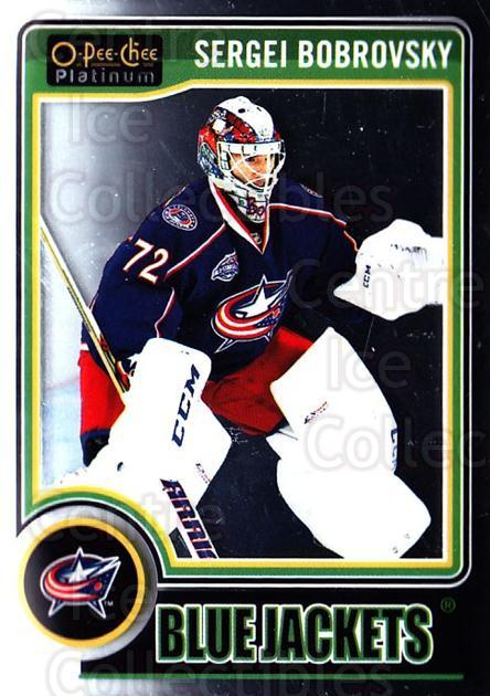 2014-15 O-Pee-Chee Platinum #88 Sergei Bobrovsky<br/>4 In Stock - $1.00 each - <a href=https://centericecollectibles.foxycart.com/cart?name=2014-15%20O-Pee-Chee%20Platinum%20%2388%20Sergei%20Bobrovsk...&quantity_max=4&price=$1.00&code=671610 class=foxycart> Buy it now! </a>